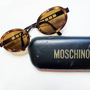 Moschino Vintage 90s Persol Heart Studs Sunglasses